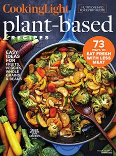 Latest issue of Cooking Light