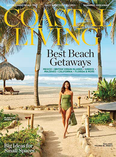 Latest issue of Coastal Living