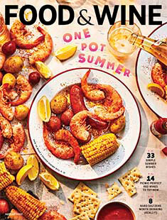 Latest issue of Food and Wine