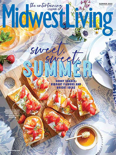 Latest issue of Midwest Living