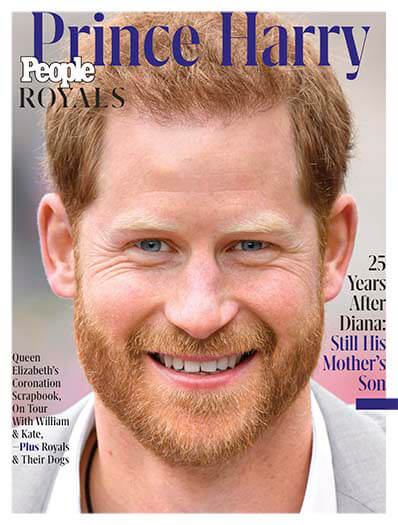 Latest issue of People Royals