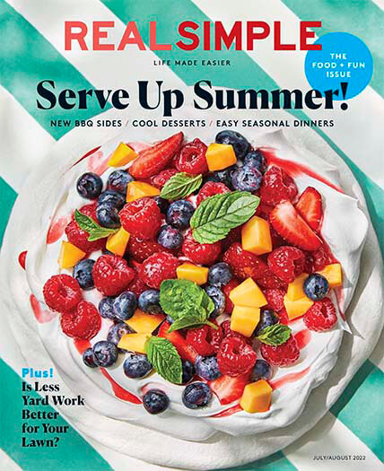 Latest issue of Real Simple