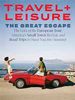 Cover of Travel and Leisure magazine