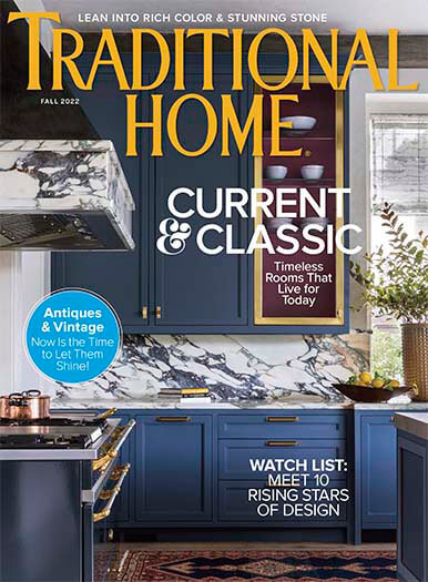 Latest issue of Traditional Home