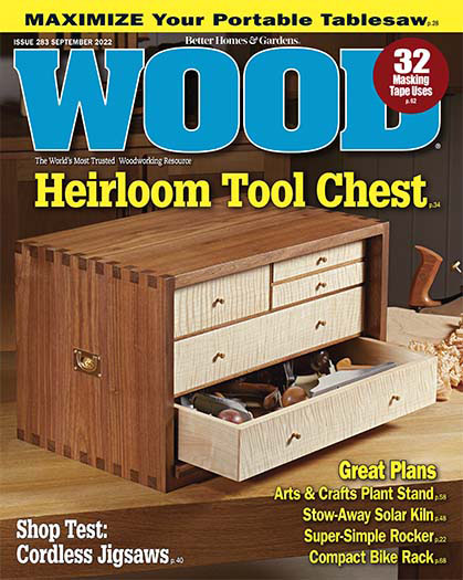 Latest issue of Wood Magazine