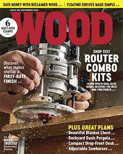 Latest issue of Wood Magazine