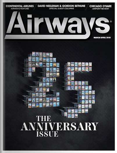 Latest issue of Airways