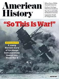 Latest issue of American History