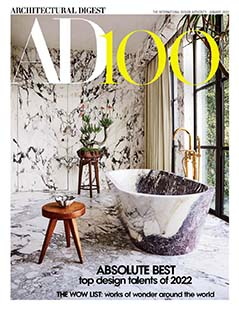 Latest issue of Architectural Digest