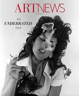 Latest issue of Artnews