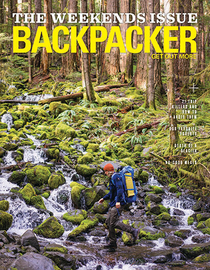 Latest issue of Backpacker