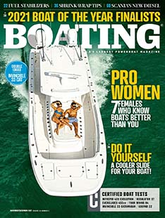 Latest issue of Boating Magazine