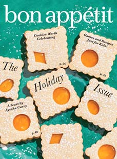 Latest issue of Bon Appetit