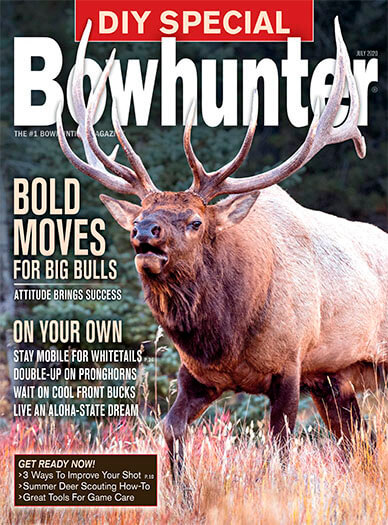 Latest issue of Bowhunter