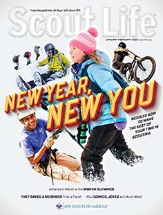 Latest issue of Scout Life Magazine