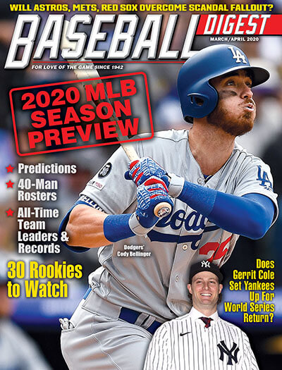 Latest issue of Baseball Digest
