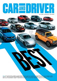 Latest issue of Car and Driver
