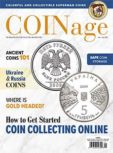 Latest issue of Beckett Coinage