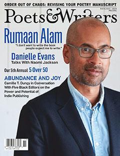 Latest issue of Poets & Writers