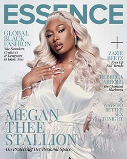 Latest issue of Essence