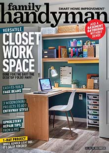 Latest issue of Family Handyman