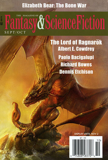 Latest issue of Fantasy Science Fiction