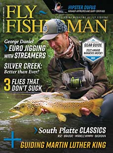 Latest issue of Fly Fisherman