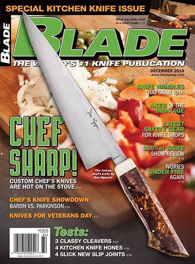 Latest issue of Blade Magazine