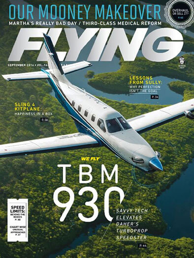 Latest issue of Flying