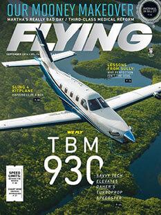 Latest issue of Flying Magazine