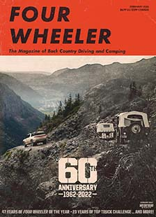 Latest issue of Four Wheeler