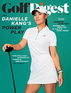 Latest issue of Golf Digest
