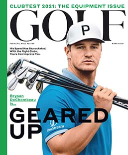 Latest issue of Golf Magazine