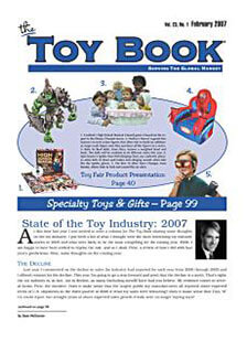 Latest issue of The Toy Book Magazine