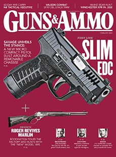 Latest issue of Guns & Ammo