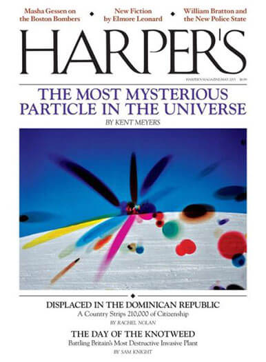 Latest issue of Harper's Magazine