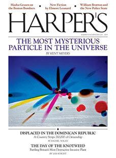 Latest issue of Harper's Magazine