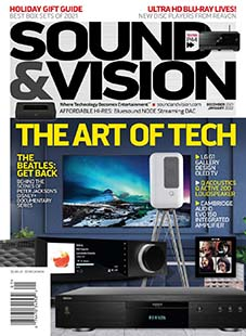 Latest issue of Sound & Vision Magazine