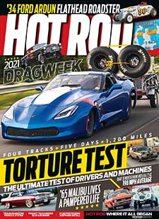 Latest issue of Hot Rod