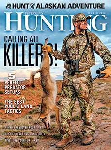 Latest issue of Hunting Magazine