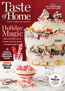 Latest issue of Taste of Home