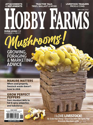 Latest issue of Hobby Farms
