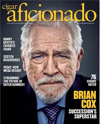 Latest issue of Cigar Aficionado