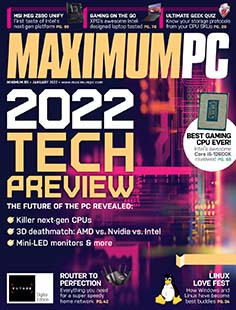 Latest issue of Maximum PC