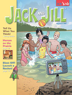 Latest issue of Jack and Jill Magazine