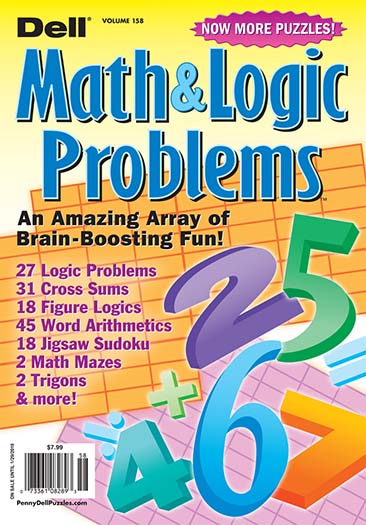 Latest issue of Dell Math Logic Problems