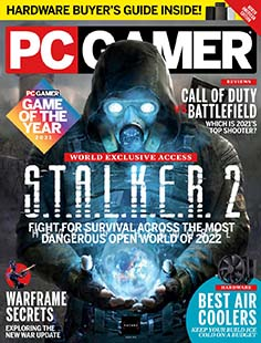 Latest issue of PC Gamer US Edition
