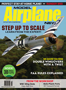 Latest issue of Model Airplane News