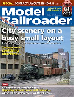 Latest issue of Model Railroader