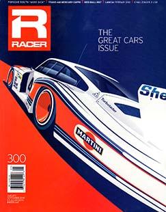 Latest issue of Racer Magazine